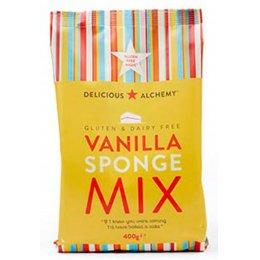 Delicious Alchemy Gluten Free Vanilla Sponge Mix - 400g test