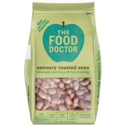 The Food Doctor Savoury Roasted Soya - 70g