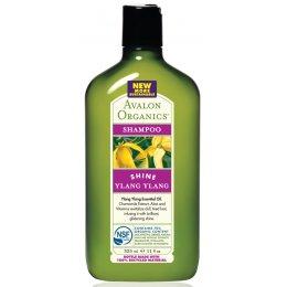 Avalon Organics Shine Shampoo - Ylang Ylang - 325ml