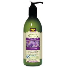 Avalon Organics Hand & Body Lotion - Lavender - 340g