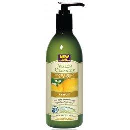 Avalon Organics Hand & Body Lotion - Lemon - 340g