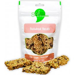 Saf Express Raw Buckwheat Biscuit Bars - 80g