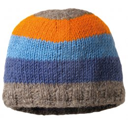 Boys Verbier Beanie Knitted Hat - Grey