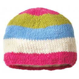 Girls Verbier Beanie Knitted Hat - Rose