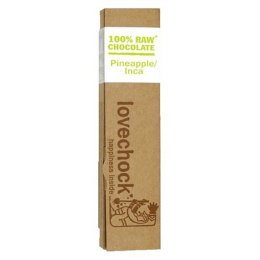 Lovechock Raw Organic Pineapple Incanberry Chocolate 40g