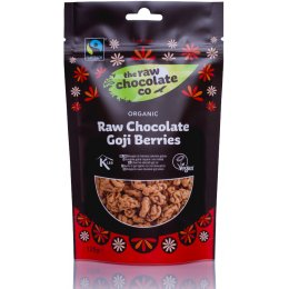 The Raw Chocolate Co Chocolate Coated Goji Berries - 125g