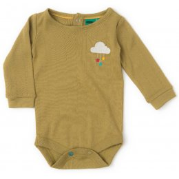 Pointelle Baby Body - Meadow Green