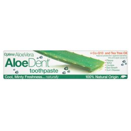 Aloe Vera Triple Action Fluoride Free Toothpaste With Q10 & Tea Tree - 100ml