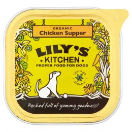 Lily's Kitchen Organic Chicken Supper For Dogs - 150g