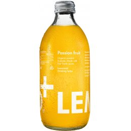 LemonAid - Organic & Fairtrade Passion Fruit Drink - 330ml