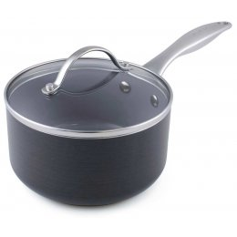 GreenPan Venice Induction Covered Saucepan - 16cm