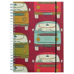 Campervan Wide Ruled Notebook - A5