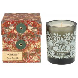 Morris & Co. Strawberry Thief Scented Soy Candle
