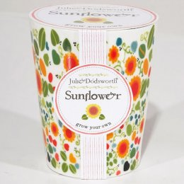 Julie Dodsworth Grow Your Own Ceramic Planter - Sunflower