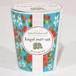 Julie Dodsworth Grow Your Own Ceramic Planter - Forget me Not