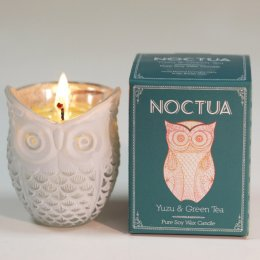 Noctua Hand Poured Soy Candle - Yuzu & Green Tea