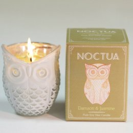 Noctua Hand Poured Soy Candle - Damson & Jasmine