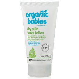 Green People Scent Free Baby Lotion for Dry Skin - 150ml
