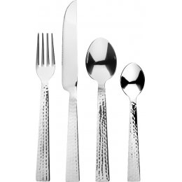 Silver Handle Cutlery Set - 16 piece