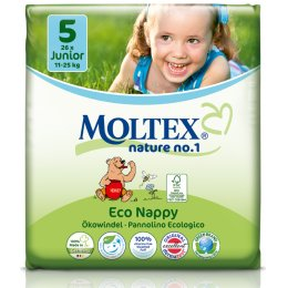 Moltex Nature Disposable Nappies - Junior - Size 5 - Pack of 26