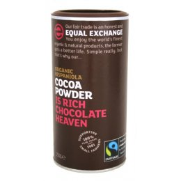Equal Exchange Fairtrade & Organic Cocoa - 250g test