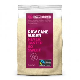 Equal Exchange Fairtrade & Organic Raw Cane Sugar - 500g