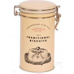 Cartwright & Butler Traditional Cheddar Cheese Biscuit Tin - 100g