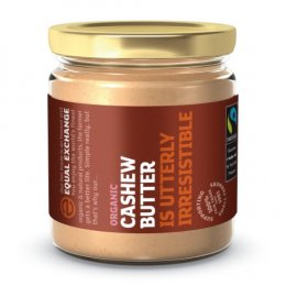 Equal Exchange Fairtrade & Organic Cashew Nut Butter - 170g