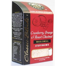 Shropshire Spice Co. Cranberry, Orange & Chestnut Stuffing Mix - 150g