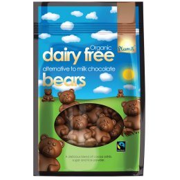 Plamil Milk Chocolate Bears in Bags - 125g