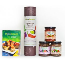 Olive Branch Trio of Chunky Olive Tapenade