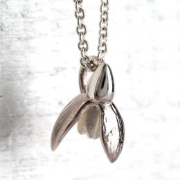 Mosami Snowdrop Hope Pendant Necklace