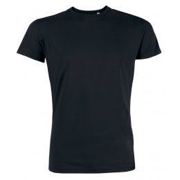 Mens Organic Cotton Round Neck Short Sleeve T-Shirt