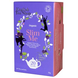 English Tea Shop Organic Slim Me Tea - 20 Bags - Sachets