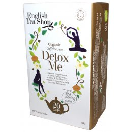 English Tea Shop Organic Detox Me Tea - 20 Bags - Sachets