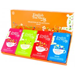English Tea Shop Organic Infusions Tea Collection - 60 Bags - Sachets