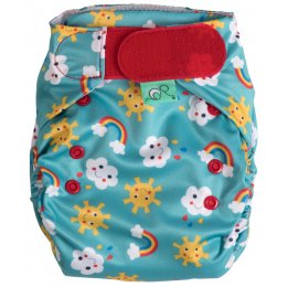Frugi Easyfit V4 Nappy - Sunny Days - 8lbs-35lbs