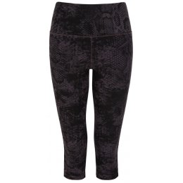 Asquith Bamboo & Organic Cotton Jump To It Capri Leggings - Snakeskin
