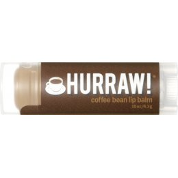 Hurraw! Organic Vegan Lip Balm - Coffee Bean - 4.3g
