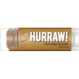 Hurraw! Organic Vegan Lip Balm - Chocolate - 4.3g