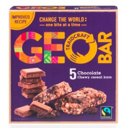 Chocolate Geobar 35g - Box of 5