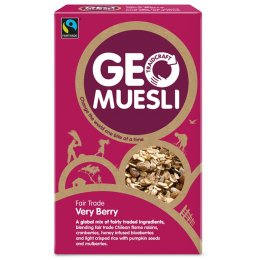 Geo Muesli Very Berries 560g