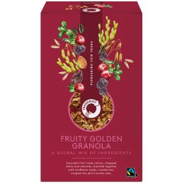 Traidcraft Fruity Golden Granola - 350g