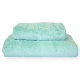 Cotton & Bamboo Shower Towel - Turquoise
