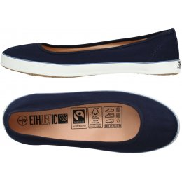 Ethletic Fairtrade Dancer Shoes - Ocean Blue