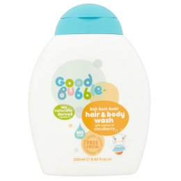 Good Bubble Bish Bash Bosh! Hair And Body Wash - Cloudberry - 250ml