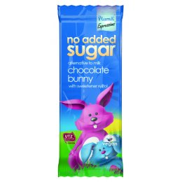 Plamil Vegan No Added Sugar & Dairy Free Chocolate Bunny Bar - 30g