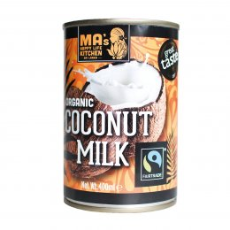 Fairtrade & Organic Coconut Milk - 400ml