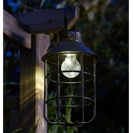 Solar Powered Zephyr Lantern