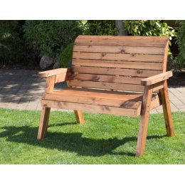 Traditional Outdoor Two Seater Bench